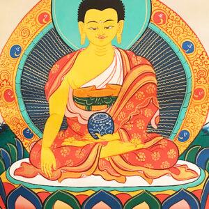 Shakjamuni Buddha thangka 22