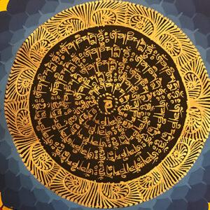 nepáli tibeti buddhista mandala thangka 22