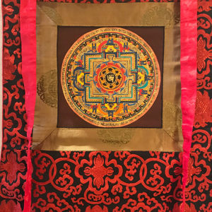 nepáli tibeti buddhista mandala thangka 31