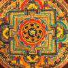 nepáli tibeti buddhista mandala thangka 32
