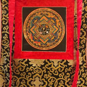 nepáli tibeti buddhista mandala thangka 51