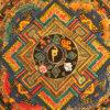 nepáli tibeti buddhista mandala thangka 52