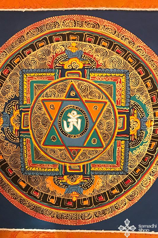 nepáli tibeti buddhista mandala thangka 72