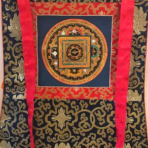 nepáli tibeti buddhista mandala thangka 81