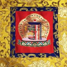 Nepáli brokát fali függők