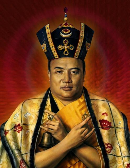 Samadhi Buddhista Blog HH. 16. Karmapa Fekete Koronában