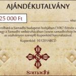 Samadhi buddhista tibeti bolt ajándék utalvány 25000Ft
