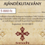 Samadhi buddhista tibeti bolt ajándék utalvány 5000Ft