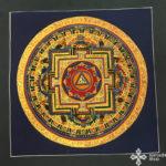 thma092 Samadhi Shop Nepáli Tibeti Buddhista Bolt mandala kalacsakra mantra festmény