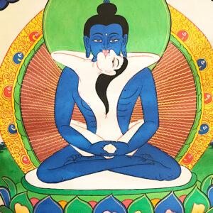 Szamantabhadra thangka 22