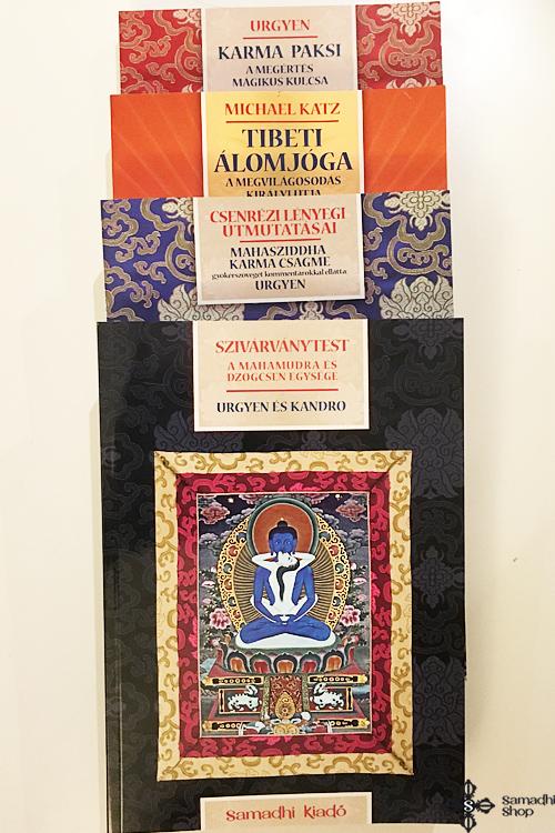 Samadhi Kiadó dharma könyvcsomag