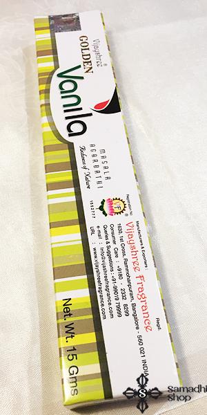 Vijayshree Golden Vanila indiai prémium füstölő