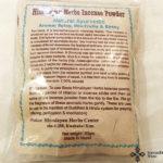 természetes nepáli füstölőpor nepalese incense powder 1