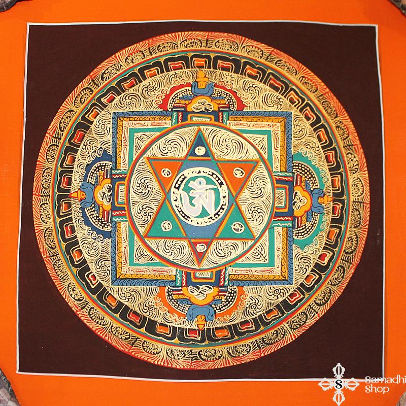 Mandala festmény thma161
