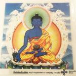 Medicine Gyógyító Buddha ablak matrica kép
