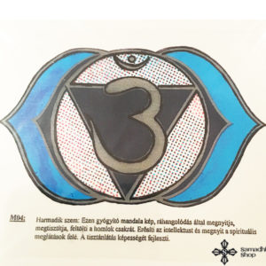 harmadik szem csakra ablak matrica kép