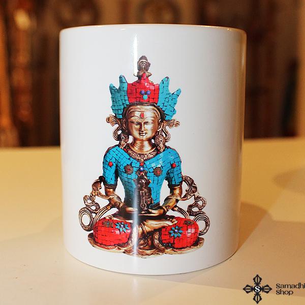 Amitábha Buddha bögre