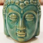 Buddha fejes párolgtató türkiz