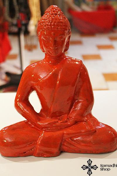 Kerámia Buddha szobor