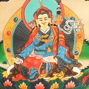 Padmasambhava Guru Rinpocse thangka 12