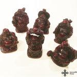 Bőséghozó Buddha szobrocska