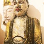 riás faragott fa buddha szobor samadhi shop nepáli tibeti bolt 02 2