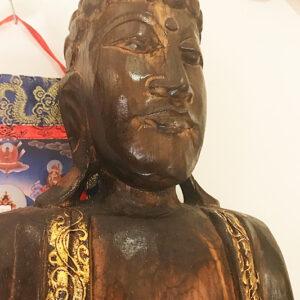 riás faragott fa buddha szobor samadhi shop nepáli tibeti bolt 04 2