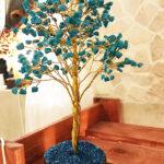Türkiz féldrágakő ásvány szerencsefa életfa