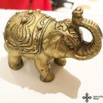 Elefánt szobrocska Feng Shui kiegészítő 2