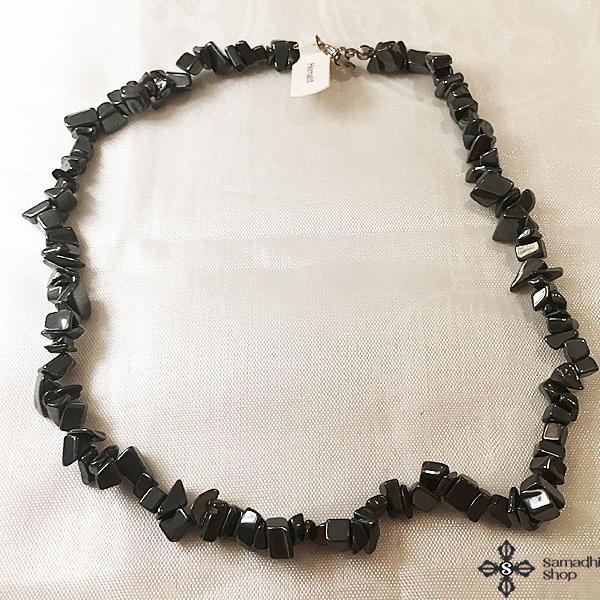 Hematit féldrágakő nyaklánc 40cm
