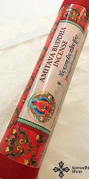 Amitábha Buddha természetes nepáli vastag füstölő