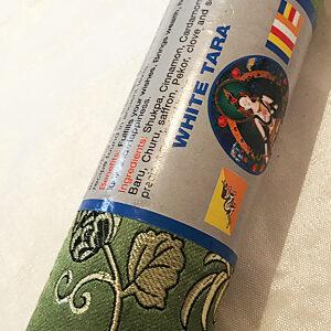Fehér Tára természetes nepáli vastag füstölő