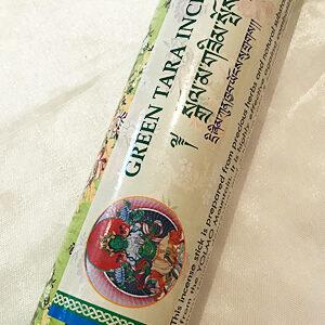 Zöld Tára természetes nepáli vastag füstölő