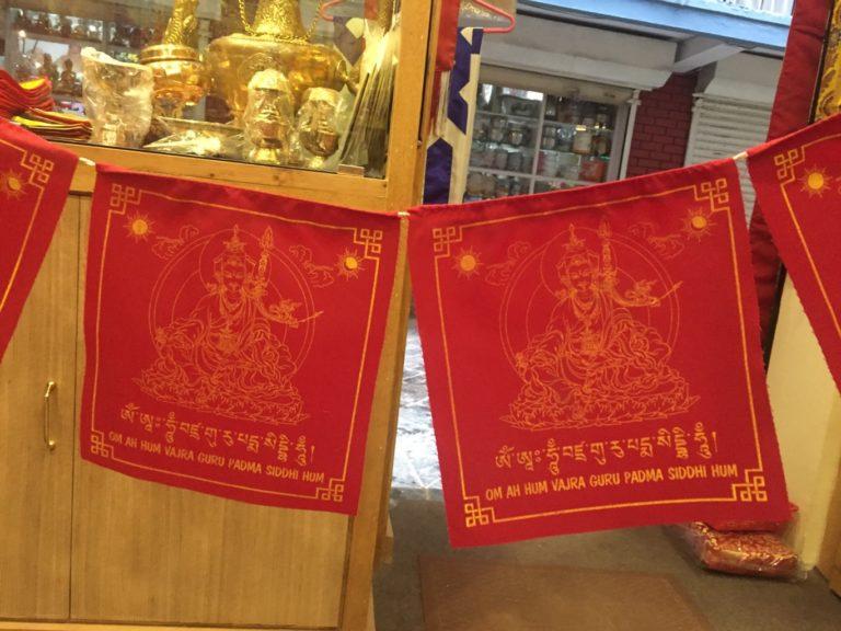guru rinpocse buddhista imazászló