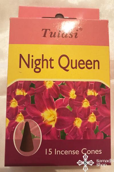 Tulasi Night Queen Éjszaka Királynője tulipán kúpfüstölő