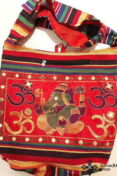 Ganésha indiai hímzett táska 2