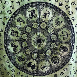 Horoszkóp faliszőnyegterítő 2