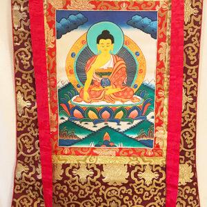 Shakjamuni Buddha thangka 21
