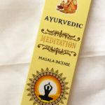 Ayurvédikus Meditáció füstölő