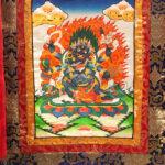 Kék Mahakála thangka