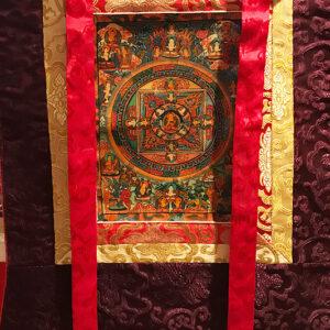 Sakjamuni Buddha Mandala thangka 11