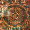 Sakjamuni Buddha Mandala thangka 12