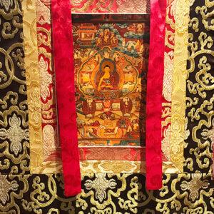 Sakjamuni Buddha Mandala thangka 21