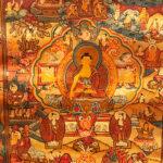 Sakjamuni Buddha Mandala thangka 22