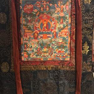 Sakjamuni Buddha Mandala thangka1