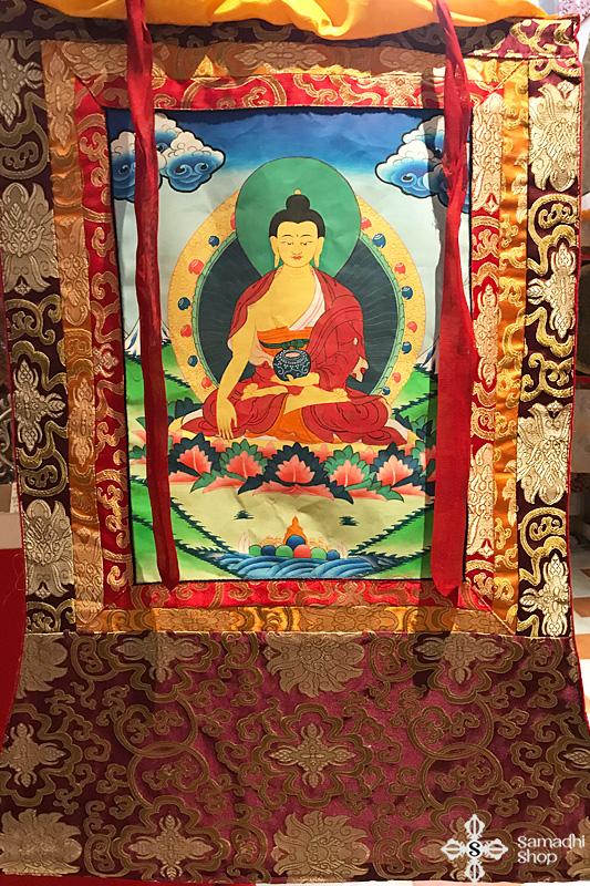 Shakjamuni Buddha thangka 1