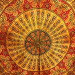 Dupla méretű pamut mandala ágytakaró 6