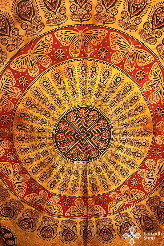 Dupla méretű pamut mandala ágytakaró - Samadhi Shop dc4ebbccb2