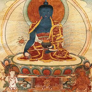 Gyógyító Buddha fali szőttes