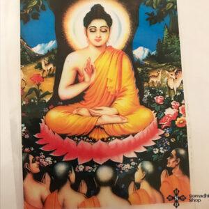 Sakjamuni Buddha ablakmatrica